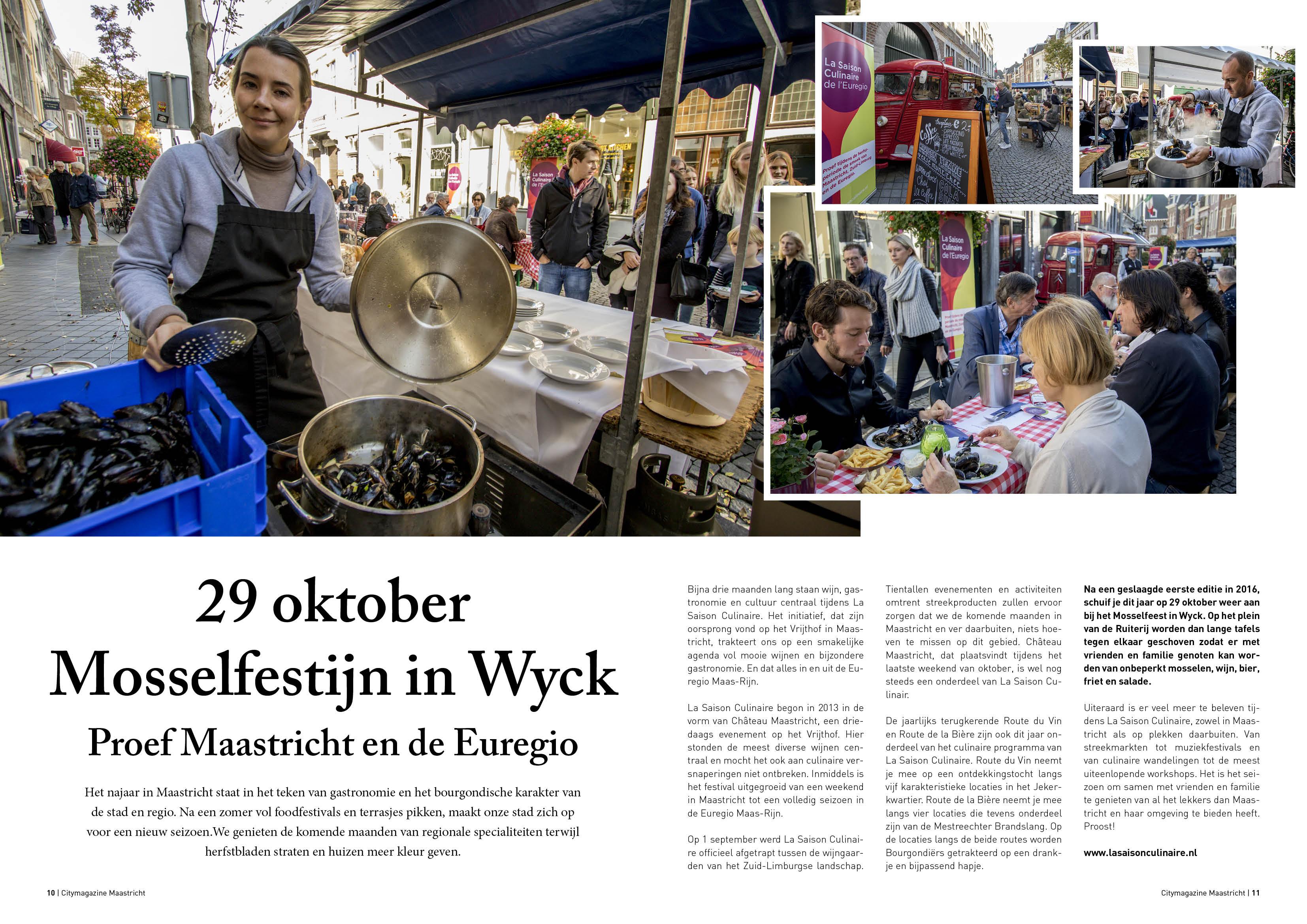 Mosselfestijn Wyck
